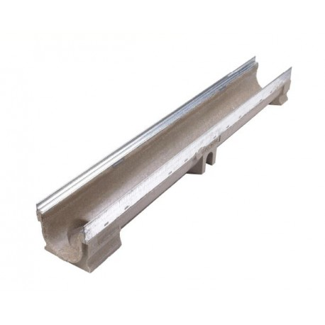 Galvanised Mild Steel Edged Poly Concrete Channel